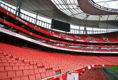Estadio de los emiratos foto de archivo