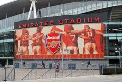 Estadio de los emiratos imagen de archivo libre de regalías