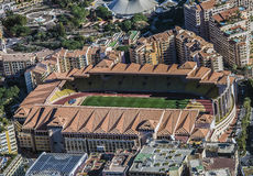 Estadio de Mónaco foto de archivo