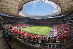 Estadio de Mané Garrincha - BrasÃlia/DF - el Brasil foto de archivo