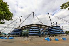 Estadio de Manchester City Imagenes de archivo