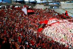 Estadio de Maracana en Río de Janeiro Imagen de archivo libre de regalías