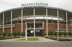 Estadio de McLane en Tejas Foto de archivo libre de regalías