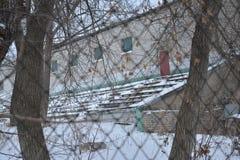 Estadio de Monolit, Stalingrad Foto de archivo