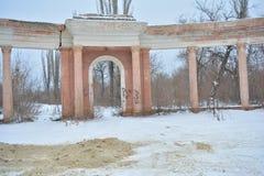 Estadio de Monolit, Stalingrad Foto de archivo libre de regalías