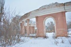 Estadio de Monolit, Stalingrad Fotos de archivo
