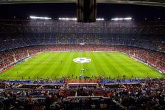 Estadio de Nou del campo, Barcelona Fotos de archivo libres de regalías