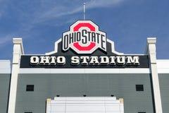 Estadio de Ohio en el campus de la universidad estatal de Ohio foto de archivo