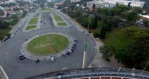 Estadio de Pacaembu, sao Paulo Brazil South America almacen de metraje de vídeo