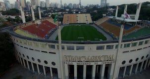 Estadio de Pacaembu, sao Paulo Brazil South America almacen de video