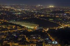 Estadio de Panathenaic Foto de archivo