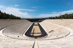 Estadio de Panathenaic, Athen, Grecia fotos de archivo libres de regalías