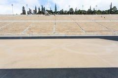 Estadio de Panathenaic en Atenas imágenes de archivo libres de regalías