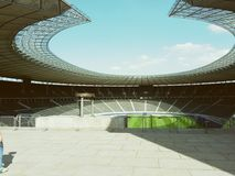 Estadio de Qlympia Imagen de archivo libre de regalías