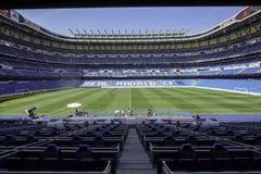 Estadio de Real Madrid Imágenes de archivo libres de regalías