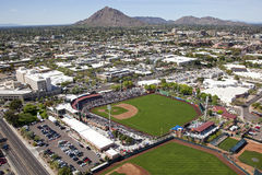 Estadio de Scottsdale Fotografía de archivo libre de regalías