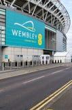 Estadio de Wembley imágenes de archivo libres de regalías