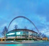 Estadio de Wembley en Londres, Reino Unido foto de archivo libre de regalías
