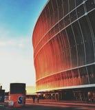 Estadio de Wroclaw Foto de archivo libre de regalías