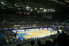 Estadio del baloncesto Fotografía de archivo libre de regalías