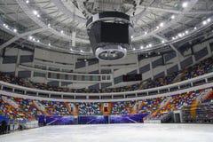 Estadio del hielo Imagen de archivo libre de regalías