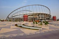 Estadio del International de Khalifa Fotos de archivo libres de regalías