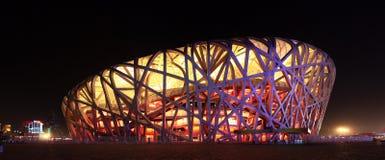 Estadio del nacional de Pekín Imágenes de archivo libres de regalías