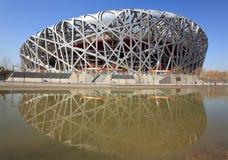 Estadio del nacional de Pekín Foto de archivo libre de regalías