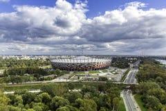 Estadio del nacional de Varsovia Imágenes de archivo libres de regalías