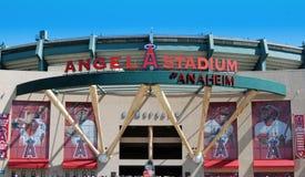 Estadio del ángel de Anaheim Imágenes de archivo libres de regalías
