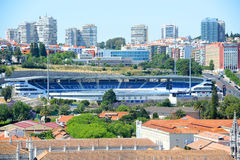 Estadio do Restelo, Lisbon, Portugal Stock Photo
