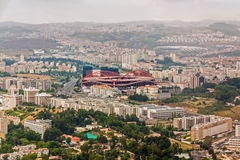 Estadio do Sport Λισσαβώνα ε Benfica Στοκ φωτογραφίες με δικαίωμα ελεύθερης χρήσης