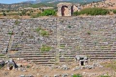 Estadio en Aphrodisias Imagen de archivo libre de regalías