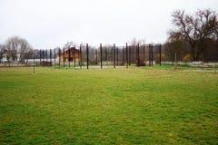 Estadio en el campo Imagen de archivo
