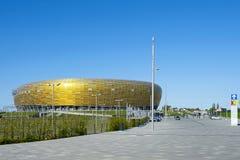 Estadio en el EURO 2012 de la UEFA de Gdansk Fotos de archivo libres de regalías