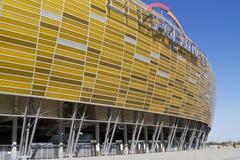 Estadio en Gdansk Imagen de archivo libre de regalías