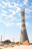 Estadio exterior de Khalifa Imagen de archivo libre de regalías
