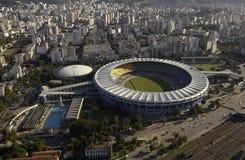 Estadio hace Maracana - el estadio de Maracana - Rio de Janeiro - el Brasil Imagen de archivo libre de regalías