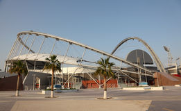 Estadio internacional de Khalifa, Doha Imagen de archivo