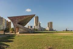 Estadio La Habana de Parque Deportivo José Martà Fotografía de archivo libre de regalías