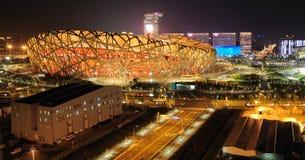 Estadio nacional de China en Pekín Imagen de archivo libre de regalías