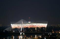 Estadio nacional de Varsovia en Varsovia Imagen de archivo