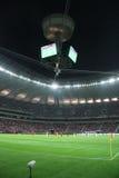 Estadio nacional en Varsovia Foto de archivo libre de regalías