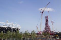 Estadio olímpico 2012 Imágenes de archivo libres de regalías