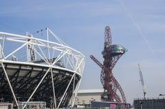 Estadio olímpico 2012 Imagenes de archivo