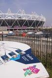 Estadio olímpico Imagen de archivo libre de regalías