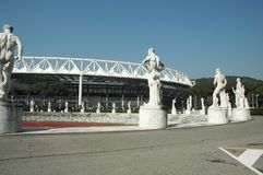 Estadio olímpico fotografía de archivo libre de regalías