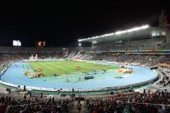 Estadio olímpico de Barcelona Imagen de archivo