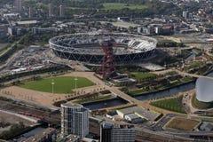 Estadio olímpico de Londres Fotografía de archivo libre de regalías