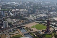Estadio olímpico de Londres Imágenes de archivo libres de regalías